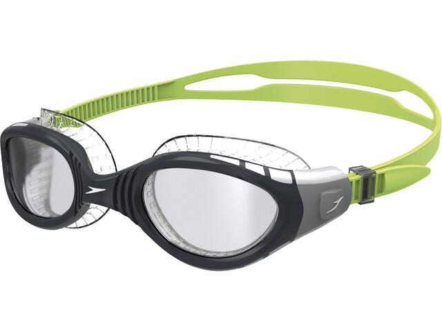 speedo Futura Biofuse Flexiseal Goggles green/smoke